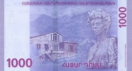 Armenia P.new 1000 Dram 2018   Unc - Armenia