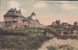 De Panne La Panne Villas Dans Les Dunes - De Panne