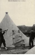"""Edition """"Cartes D'autrefois """" Thème: Guerres Et Militaires - Aisne - Camps Militaire De Sissonne - Le Réveil - Manoeuvres"""