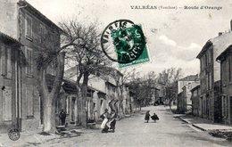 Valreas Route D Orange - France