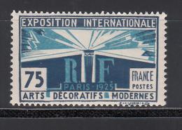 1924-25   Yvert Nº 215  MNH - Francia