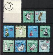 Japan 2018.01.10 Greetings, Moomin (used)③ - 1989-... Emperador Akihito (Era Heisei)
