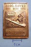 MEDAL  Rowing BROD SAVEZ BOSNA I HERCEGOVINA 1960   KUT - Aviron