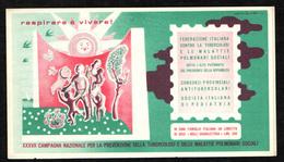 Italia - Libretto Erinnofilo - 37^ CAMPAGNA ANTITUBERCOLARE - NUOVO - Italia