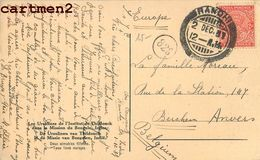INDE INDIA RANDHI THIDONCK STAMP CACHET TIMBRE BENGALE ETHNIC ETHNOLOGIE CATECHISTE MISSIONNAIRES MISSIONS FRANCISCAINES - Inde