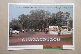 "BURKINA FASO ""OUAGADOUGOU"" OUAGA Le Rond6point Des Nations-Unies - AFRIQUE - Burkina Faso"