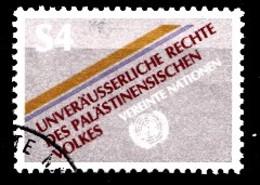 Nations Unies Wenen 1981 Mi.Nr: 16 Unveräusserliche Rechte Des...  Oblitèré / Used / Gebruikt - Centre International De Vienne