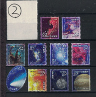 Japan 2018.02.07 Astronomical World Series 1st (used)② - 1989-... Empereur Akihito (Ere Heisei)