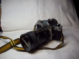 F/    NIKON FM 2110108 //    TAMRON SP LENS CF MACRO 1:2.8-3.8    35-80mm - Photographie