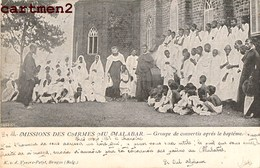 INDE INDIA MALABAR INDES ANGLAISES VYVERE ETHNIC ETHNOLOGIE CATECHISTE MISSIONNAIRES MISSIONS FRANCISCAINES - Inde