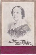 MANUELA DE ROSAS Y EZCURRA CIRCA 1900s SIZE 11x17 ANTIGUOS RETRATOS - BLEUP - Berühmtheiten