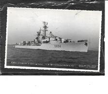 """Théme-Navire De Guerre-Marine Natonale-Une Vue De L'ESCORTEUR D'ESCALE """" LA BOURBONNAIS"""" - Guerre"""