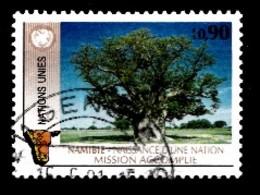 Nations Unies Genève 1991 Mi.Nr: 199 Unabhängigkeit Namibias  Oblitèré / Used / Gebruikt - Gebruikt