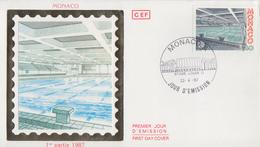 Enveloppe  FDC  1er  Jour   MONACO   EUROPA    1987 - 1987
