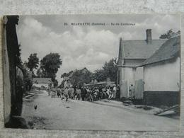 NEUVILETTE   RU DE CONTELEUX - France