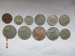 Zambia: 6 Coins Various - Zambia