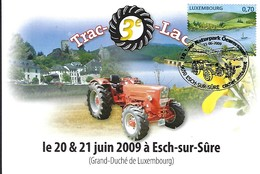 21.6.2009  -  3ieme TRAC-O-LAC Du 20au 21 Juin 2009 - Cartes Maximum