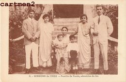 INDE INDIA FAMILLE DE PARSIS ADORATRICE DU FEU MISSIONNAIRES ETHNIC ETHNOLOGIE CATECHISTE MISSIONS FRANCISCAINES - Inde