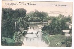 POL-161   WARSZAWA : Park Ujazdowski - Pologne