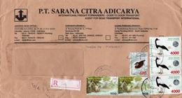 LSC - Recommandé Et Cachet  JAKARTA  Sur Timbres (x6) - Indonesien