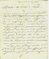 1812 NÉGOCE COMMERCE DENRÉES COLONIALES Amiens  Daveluy L'Ainé & Prévost Pour Th. Dobrée à NANTES V.SCANS - France
