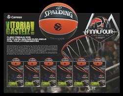 Spain 2019 Mih. 5354 EuroLeague Basketball. Final Four In Vitoria-Gasteiz (M/S) MNH ** - 2011-... Nuevos & Fijasellos