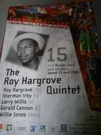 Affiche - Jazz In Marciac Dans Le Gers En 2000 - The Roy Hargrove Quintet. - Manifesti & Poster