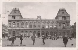 CPA - Belgique - Brussels - Bruxelles - La Gare Du Nord - Spoorwegen, Stations