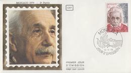 Enveloppe  FDC  1er  Jour   MONACO     Albert   EINSTEIN   1979 - Albert Einstein