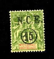 Nelle. - CALEDONIE - 58 - 15c Sur 1F Olive - Neuf N** - Très Beau - Neufs