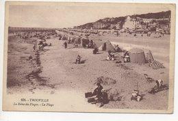 TROUVILLE - LA REINE DES PLAGES - LA PLAGE #12 A - Trouville