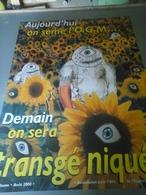 Affiche - On Sème L'O.G.M Demain On Sera Transgéniqué... - Affiches & Posters