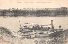 """CONGO FRANCAIS  -  Le Vapeur """" Capitaine Pleigneur """" à Loudima Mari - Congo Français - Autres"""
