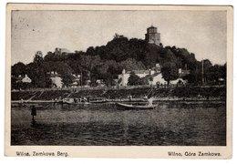 Wilna, Zamkowa Berg, Wilno, Gora Zamkowa, Alte Postkarte 1916, Feldpost - Lithuania