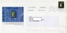 LSC 2012 -  Timbre Préimprimé (entier Postal)  - Représentation Du CERES De 1849 - Prêts-à-poster:  Autres (1995-...)