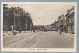 NL.- HAARLEM. SCHOTERWEG. Old Car. Tram. Uitgave: J.P. Exel. Ongelopen. - Haarlem