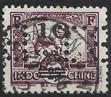 Indochine-N°229 Perforé B.I-Ancoper B.I 2 - France