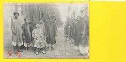 ANNAM Hué Chef De La Garde Royale Et Son Escorte (Dieulefils) Viet-Nam - Vietnam