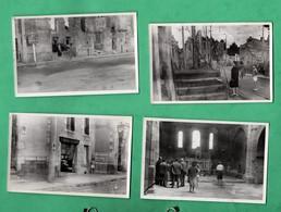 Haute Vienne Oradour Sur Glane Lot De 11 Photos D 'amateur 6 Aout 1047 Format 7,7cm X 11,8cm Voir 6 Scans - Lieux