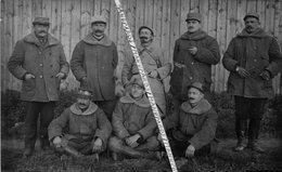 1915 - 1919 / CARTE PHOTO / 328e RI ( ABBEVILLE )/ ADJUDANT / CHAUFFEURS SECTION TRANSPORT ? 328e RÉGIMENT D' INFANTERIE - Guerre, Militaire