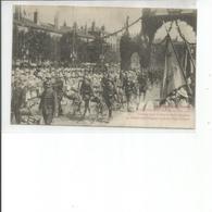 54-LUNEVILLE DEFILE DES CHASSEURS CYCLISTES - Luneville
