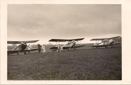 Aviation - Avions Anglais - Tour Aérien D'Europe - Lausanne-Blécherette - 1930 - Rare - Aeródromos