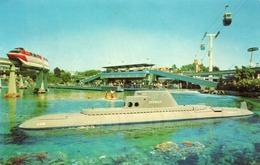SUBMARINE RIDE - Disneyland