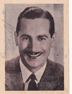 BARRY MORAL MUSICIAN ARTIST ARGENTINA AUTOGRAPH CIRCA 1950s - BLEUP - Autographes