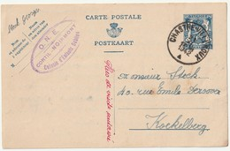 Chastre-Villeroux Pws 123FN - Entiers Postaux