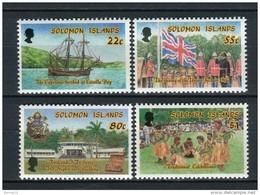 Solomon Islands 1988. Yvert 650-53 ** MNH. - Salomon (Iles 1978-...)