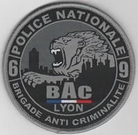 Écusson Police BAC Lyon (69) - Police & Gendarmerie