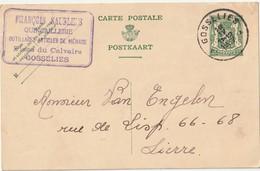 Gosselies Pws 112 - Entiers Postaux
