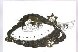 CPA Patrick HAMM Les Foies Gras De Ried 37, Rue Du Château à ICHTRATZHEIM Vous Souhaite Une Bonne Année 2000 - Hamm