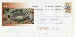 LSC 2010 -  Entier Postal BALLON à Rames - Prêts-à-poster:  Autres (1995-...)